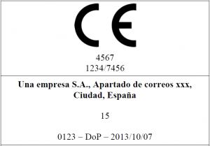 Etiqueta CE