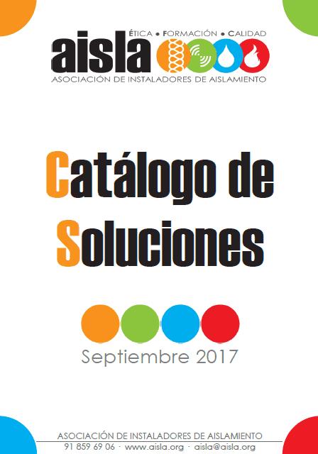 Catálogo de Soluciones AISLA. Septiembre 2017