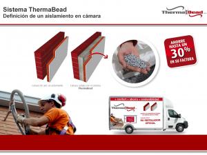 Presentación de THERMABEAD, perlas de EPS