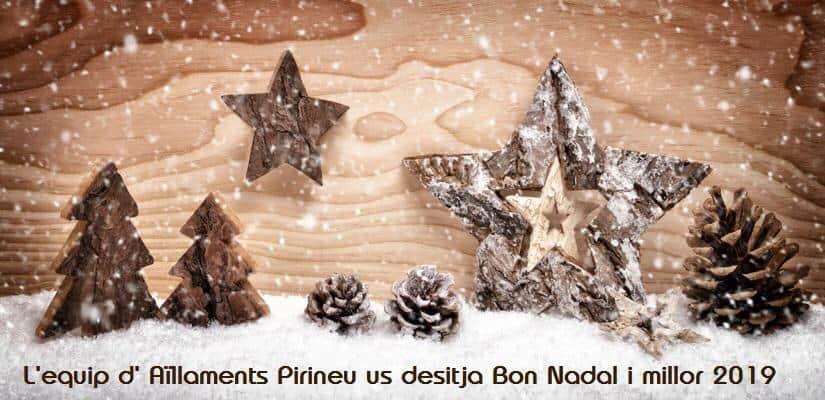 Felicitación 2019 de AILLAMENTS PIRINEU