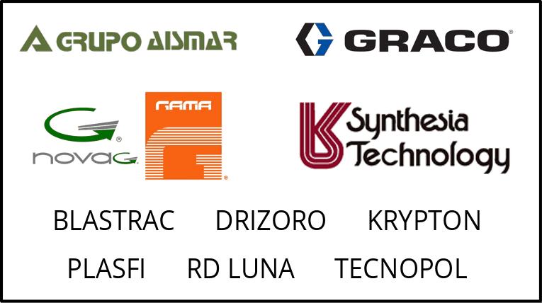 Empresas colaboradoras del curso de Poliurea de AISLA