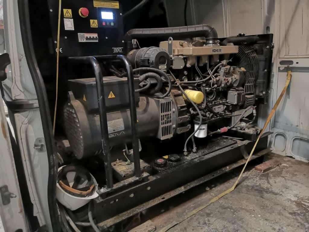 Generador trifásica