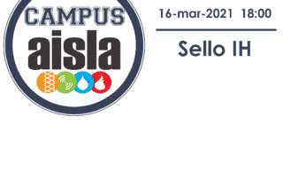 Logo CAMPUS AISLA. Sello IH